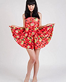 Strawberry dress Exciting Bailey strips & gets rough. Bailey Jay.