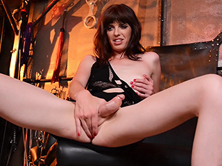 Mandy mitchell Mandy Mitchell. Violent & lustful Mandy toys her anal