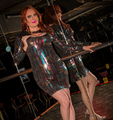 Wendy william s june steamy hot tgirl party in a bar.
