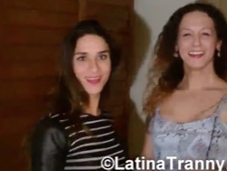 Adriana rodrigues and nikki get their freak and their blowjob on.